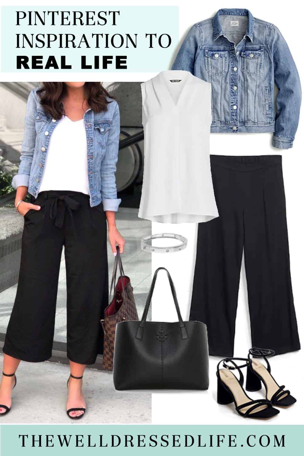 Pinterest in Real Life: How to Wear Culottes