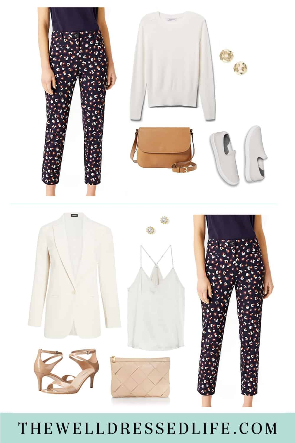 How to Style Print Pants for Day and Night