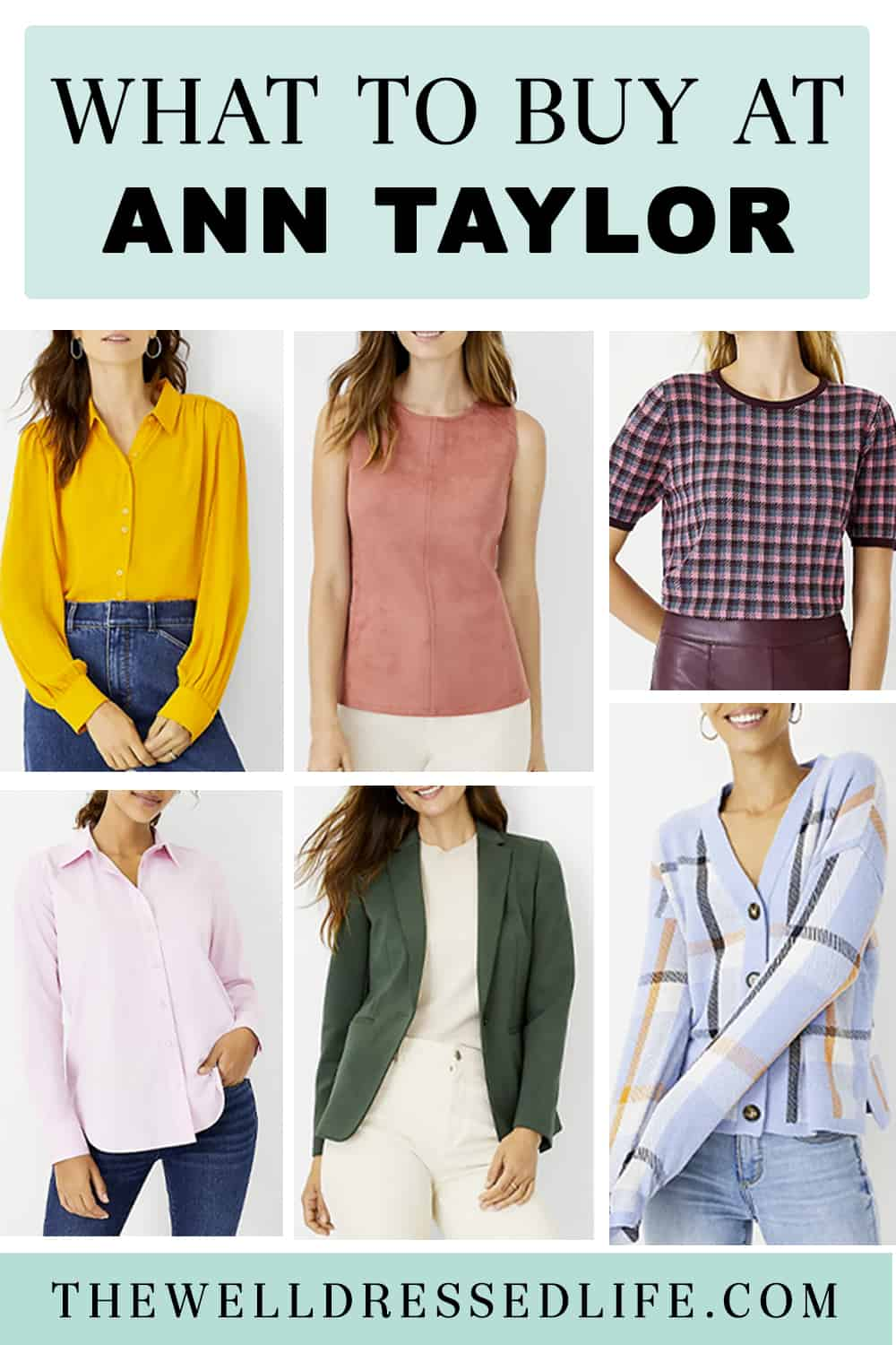 What to Buy at Ann Taylor for Early Fall