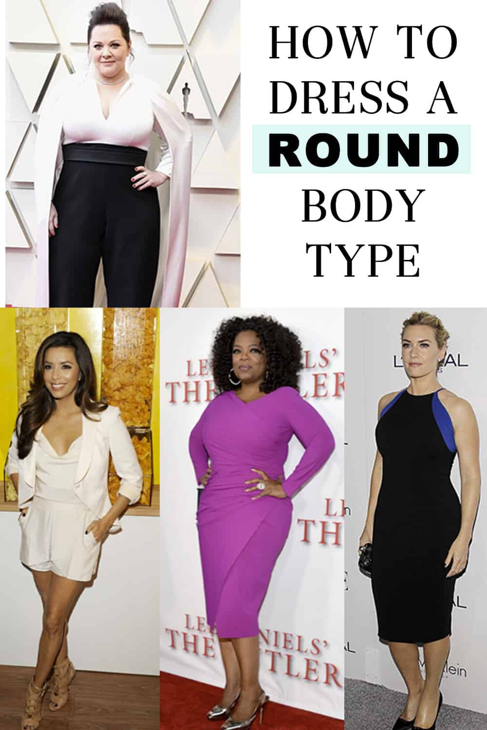 How to Dress a Round Body Type