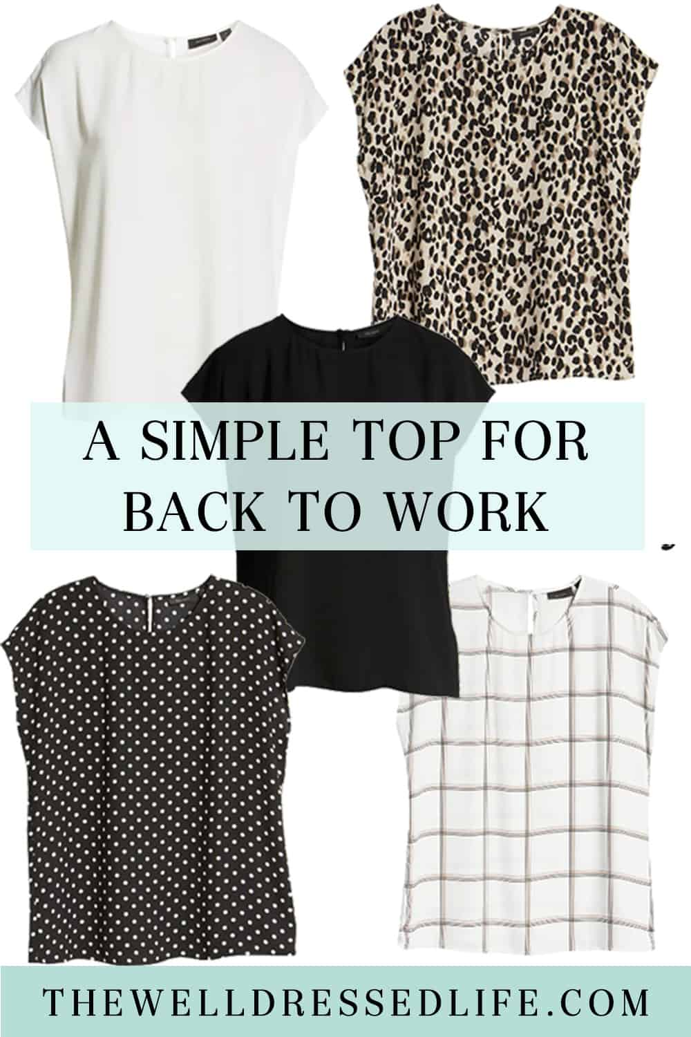 A Simple Top for Back to Work
