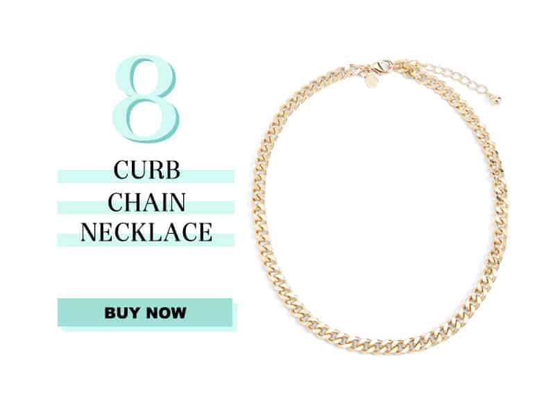 Express Curb Chain Necklace