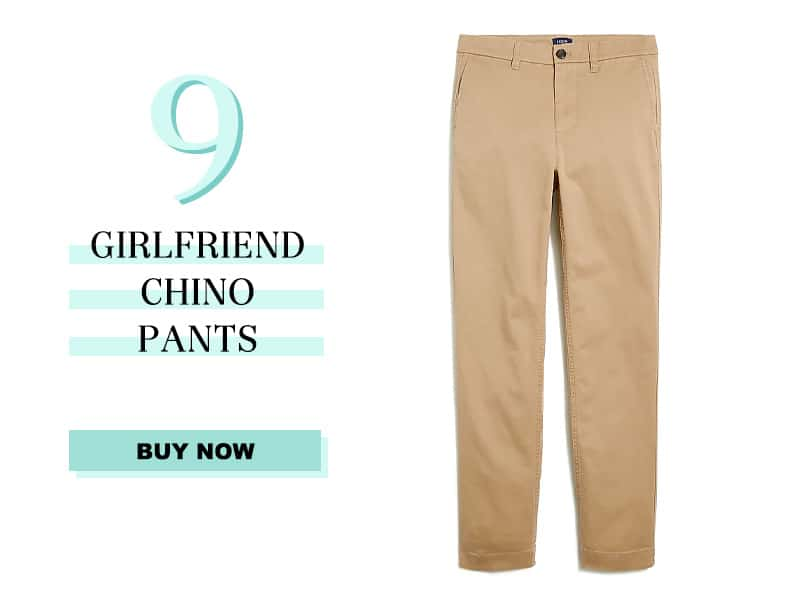 J.Crew Girlfriend Chino Pants