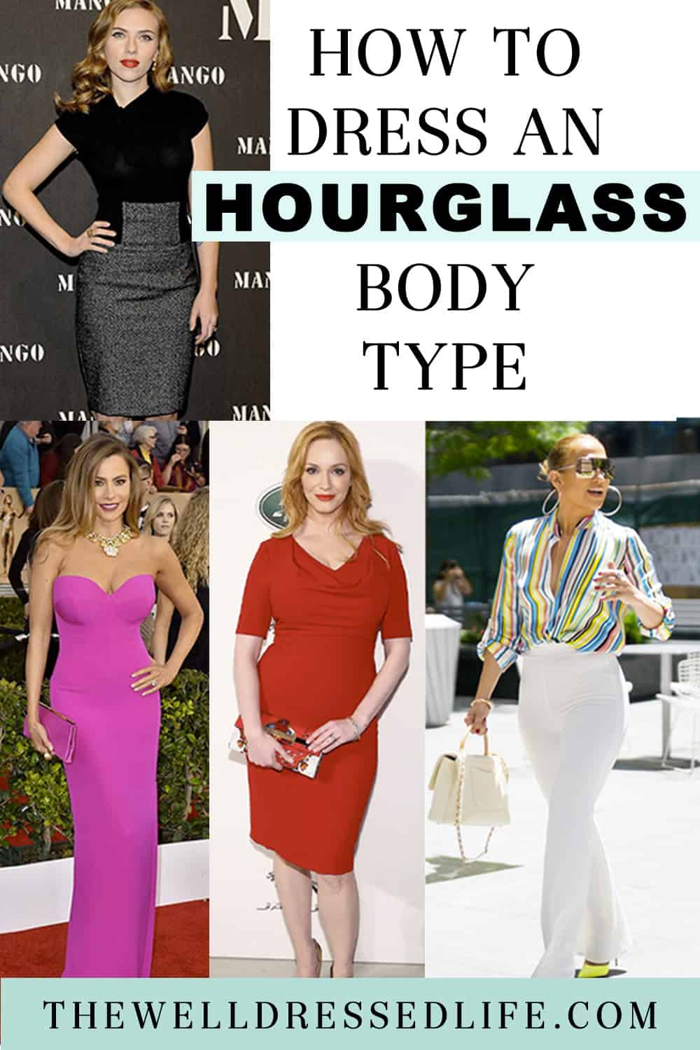 How to Dress an Hourglass Body Type