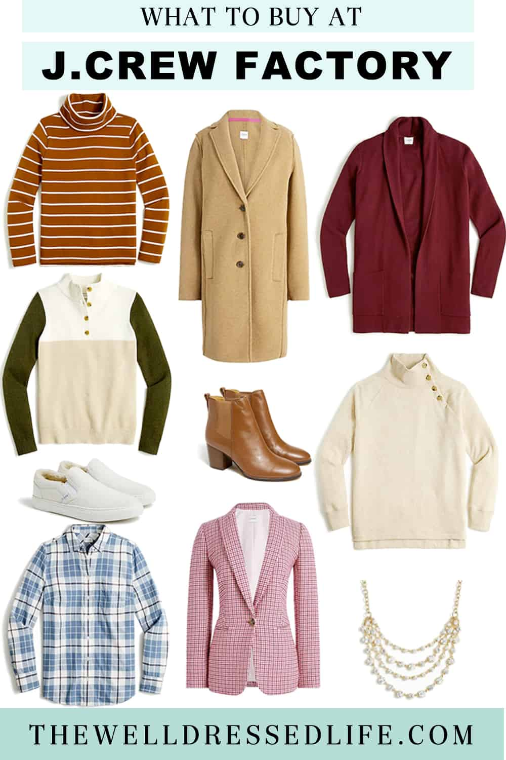 What to Buy at J. Crew Factory