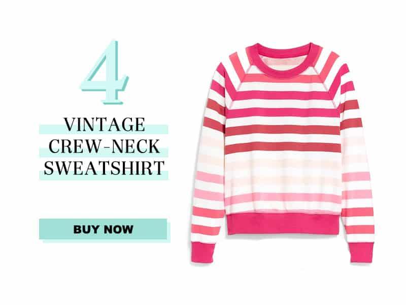 Vintage Crew Neck Sweatshirt