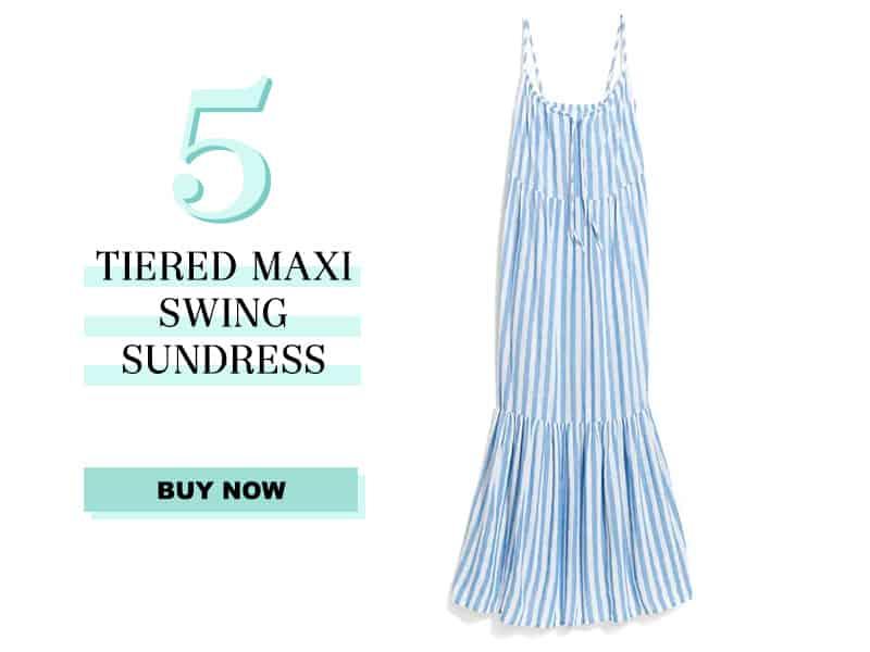 Tiered Maxi Swing Dress