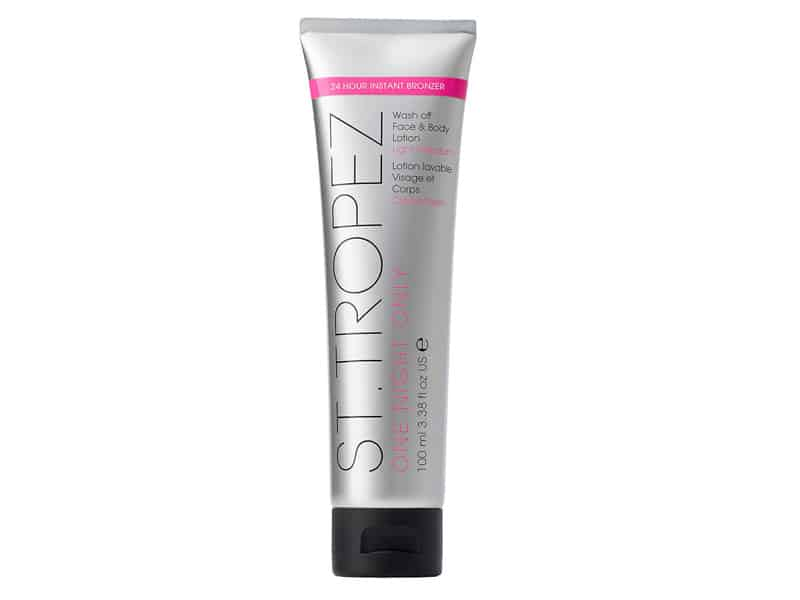 St. Tropez One Night Only Wash Off Face & Body Lotion