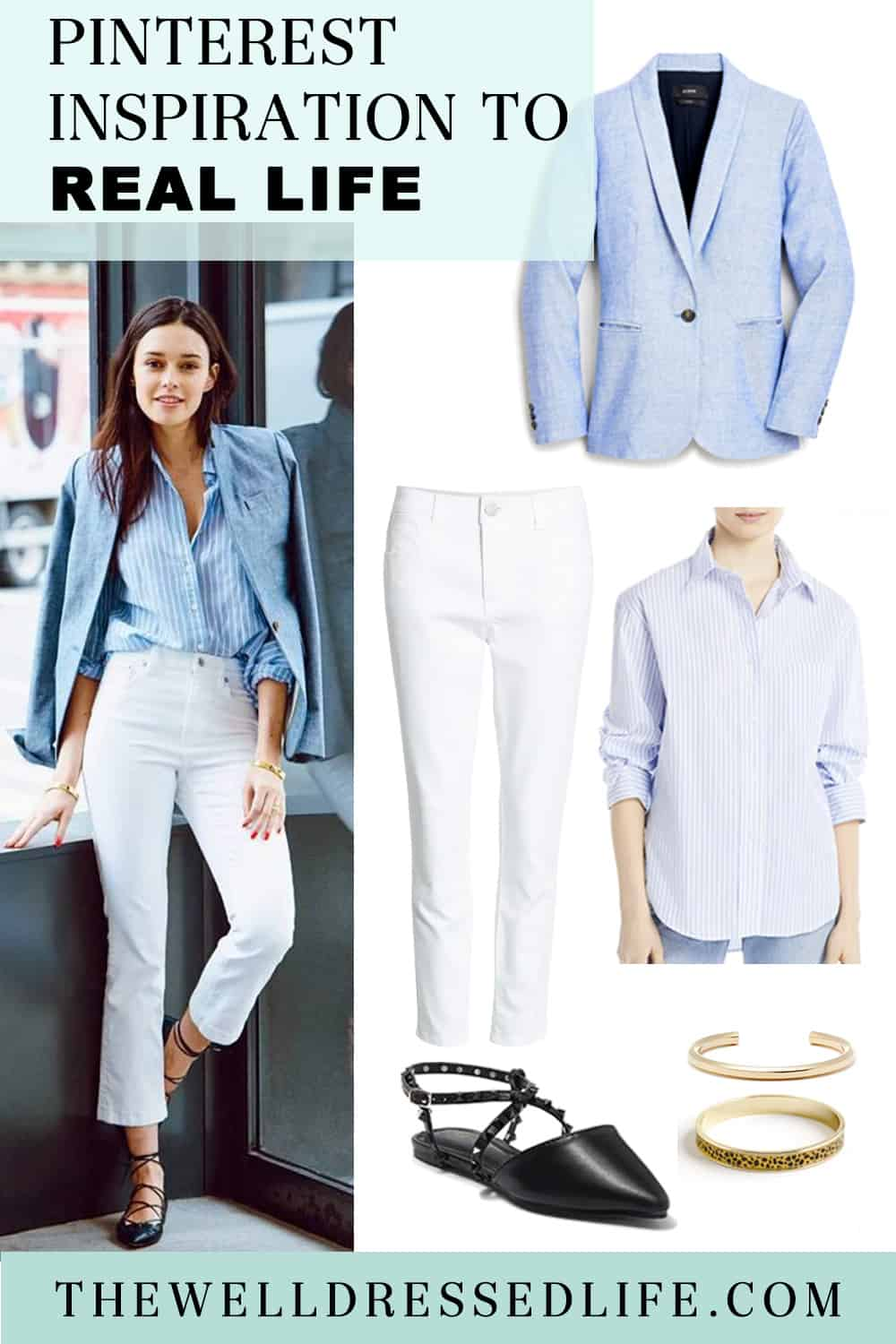 Pinterest in Real Life: A Fresh Workwear Look