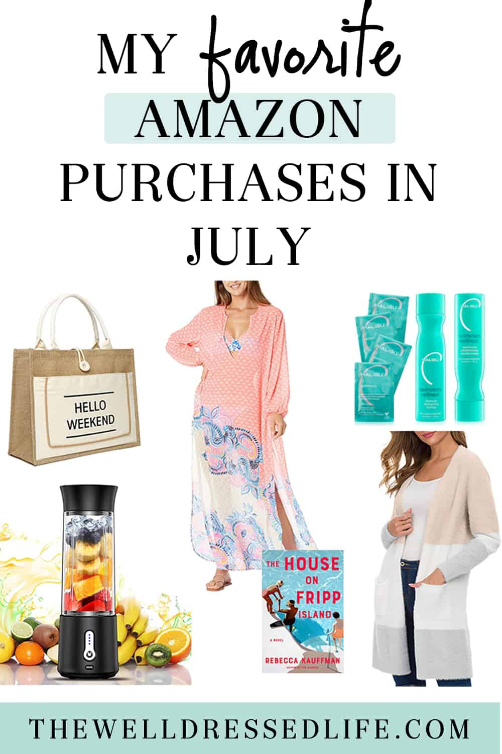 My Favorite Amazon Purchases in July