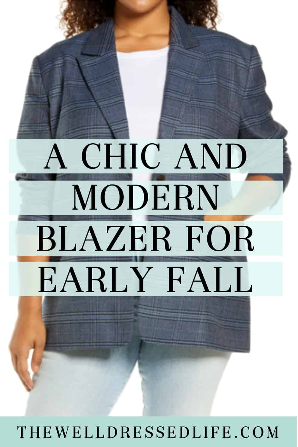 A Chic and Modern Blazer for Early Fall