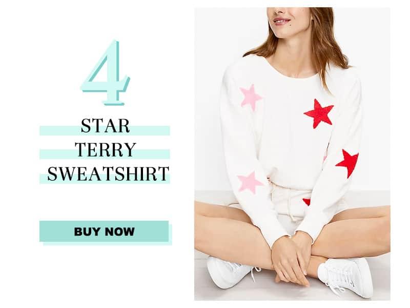 Lou & Grey Star Terry Sweatshirt