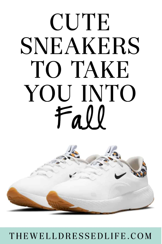 Sneakers to Take You Into Fall