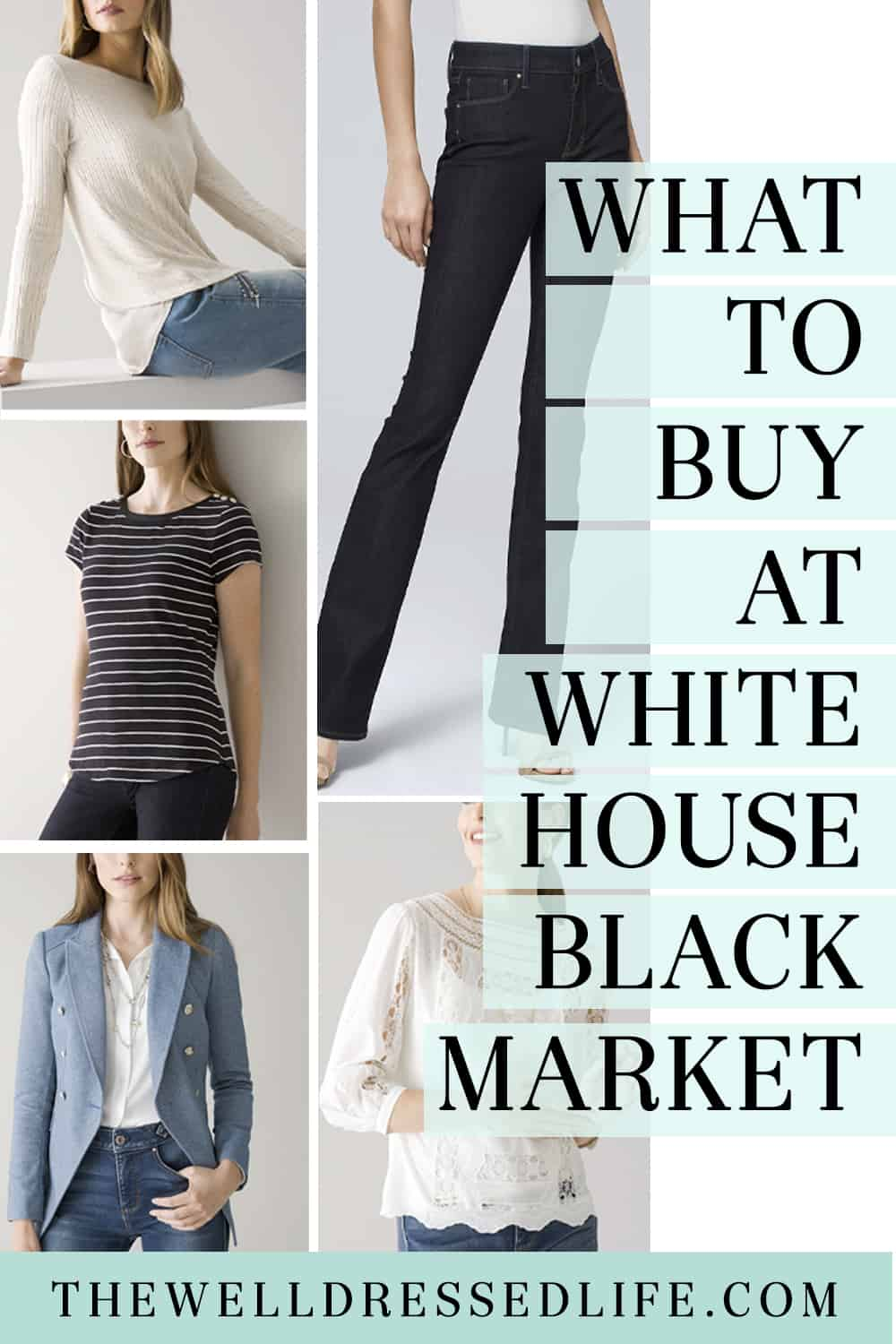 What to Buy at White House Black Market