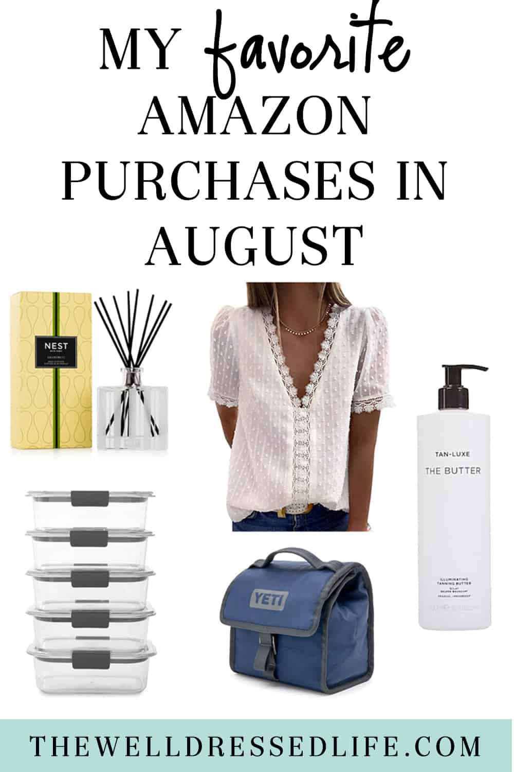 My Favorite Amazon Purchases in August