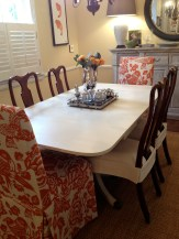 Side chair slipcovers