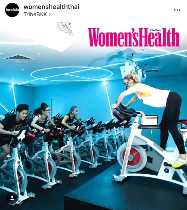 WOMEN'SHEALTH -THAILAND SPIN & STRETCH