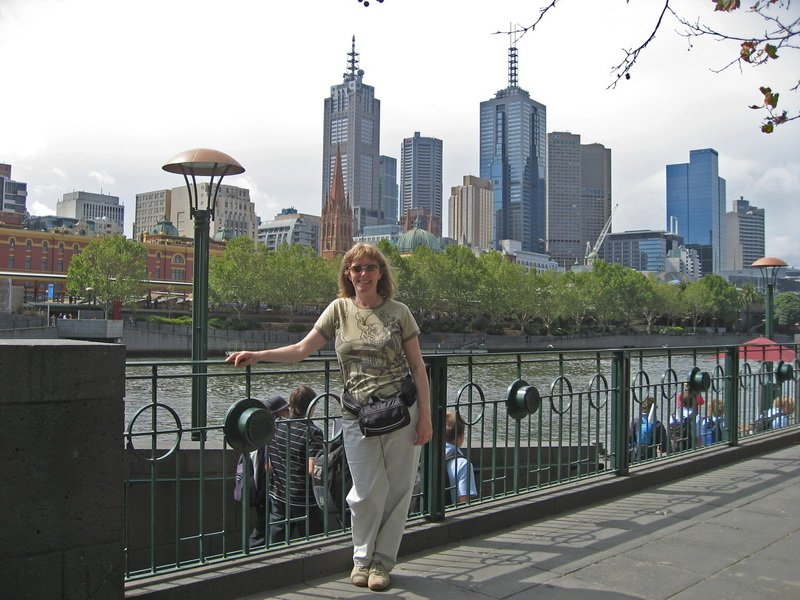 Lynda in Melbourne