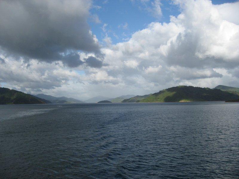 Between the islands