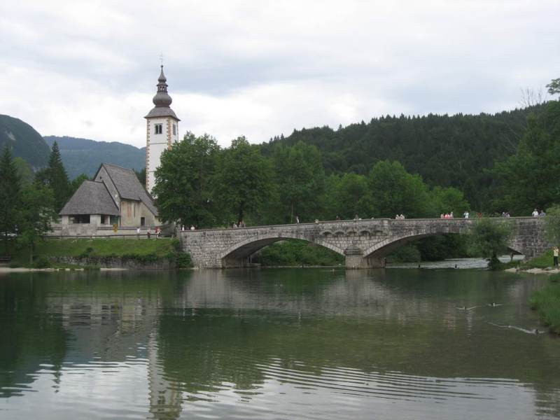 Bohinj church