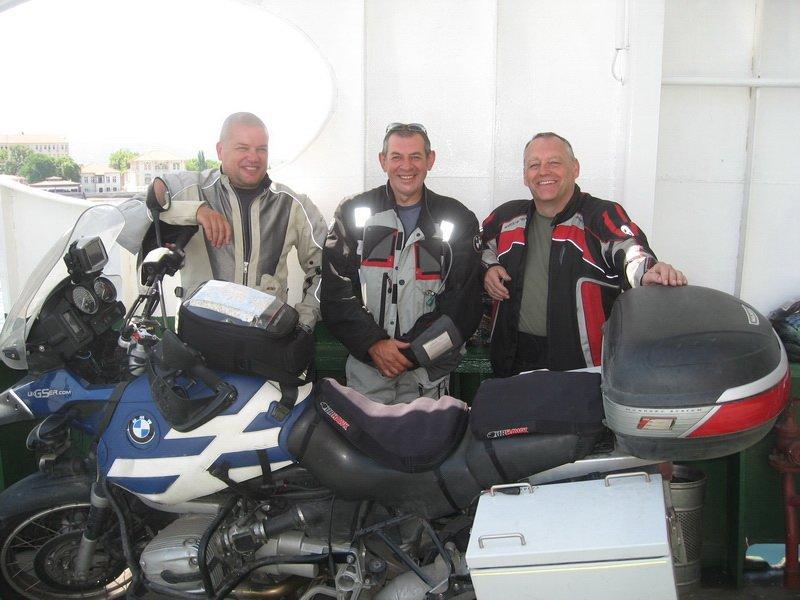 AGK on ferry
