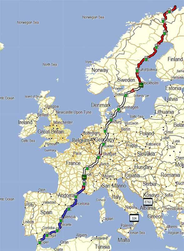 EE2E route