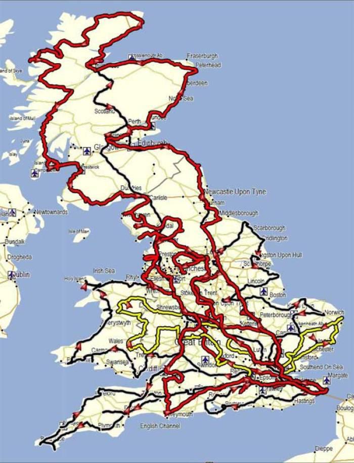 2011 routes