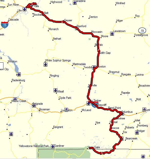 4 August, 355 Miles