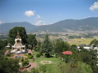 Kopan Monastery - Valley view