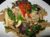 Spicy Mixed Mushrooms with Sweet Basil
