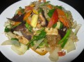 Pad Poi Si-En - Stir Fried Mix Vegetables with Glass Noodles