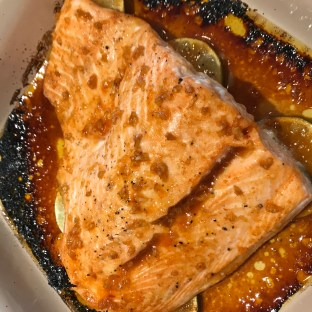 The Well-Intended's Sriracha Lime Salmon