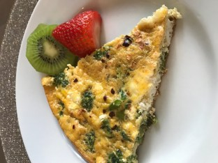 The Well-Intended's Organic Vegetarian Frittata