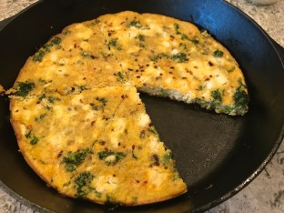 The Well-Intended's Organic Vegetable Frittata