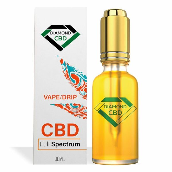 cbd-kafe,Diamond CBD Full Spectrum Vape/Drip Oil,Diamond CBD,Full Spectrum
