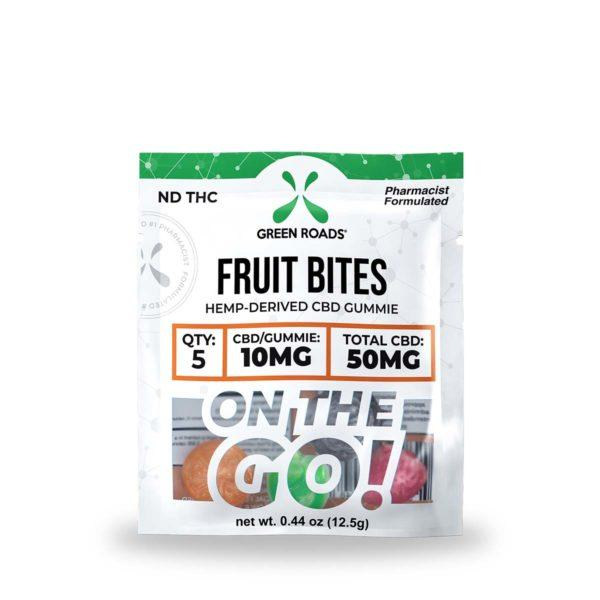 cbd-kafe,CBD Fruit Bites – 50 mg,Green Roads,Broad Spectrum