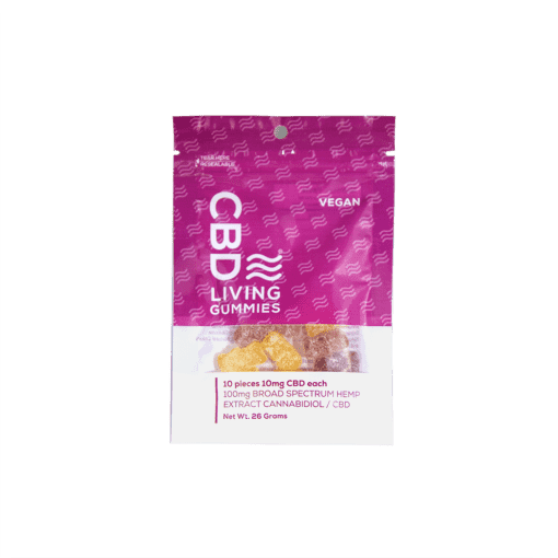 cbd-kafe,CBD Living Vegan Gummies 100 mg,CBD Living,Broad Spectrum