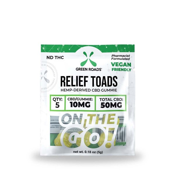 cbd-kafe,CBD Relief Toads OTG – 50 mg,Green Roads,Broad Spectrum