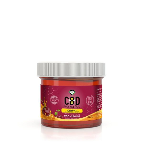 cbd-kafe,Diamond CBD Honey Pot - Cherry 250 mg,Diamond CBD,Full Spectrum