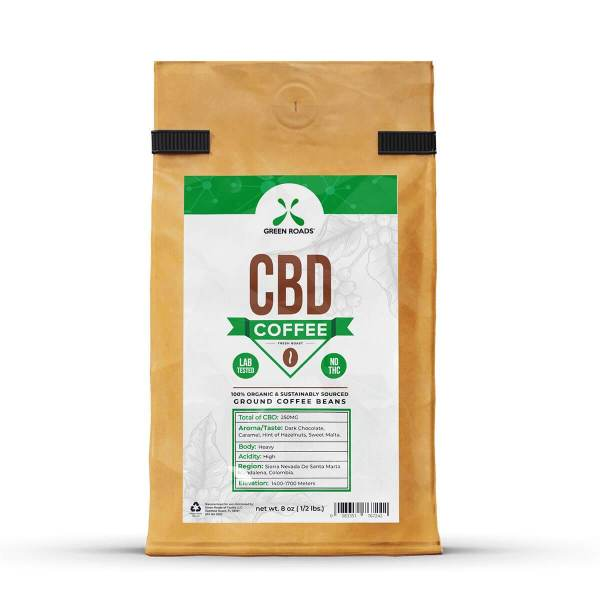 cbd-kafe,Green Roads CBD Infused Coffee,Green Roads,CBD Drinks & Water