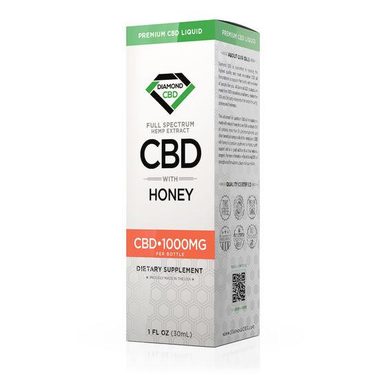 cbd-kafe,Diamond CBD Full Spectrum Honey Tincture Oil - 1000mg (30ml),Diamond CBD,Full Spectrum
