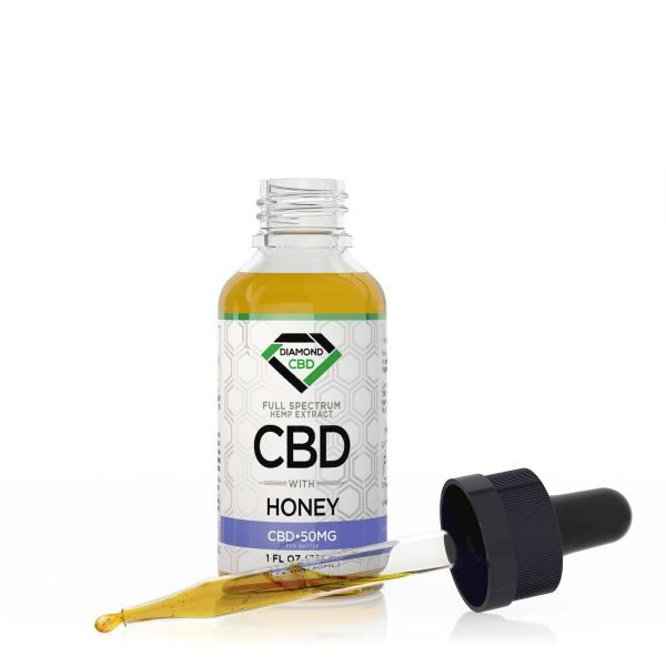cbd-kafe,Diamond CBD Full Spectrum Honey Tincture Oil - 50mg (30ml),Diamond CBD,Full Spectrum