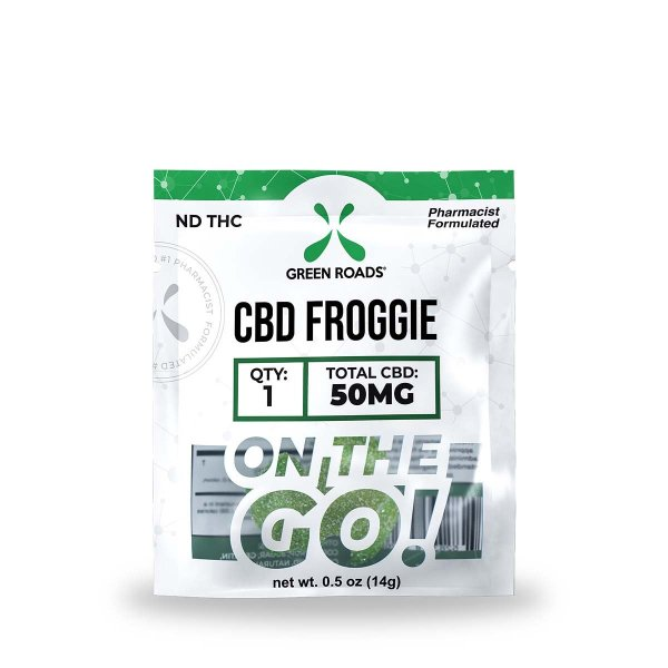 cbd-kafe,CBD Froggie – 50 mg,Green Roads,Broad Spectrum