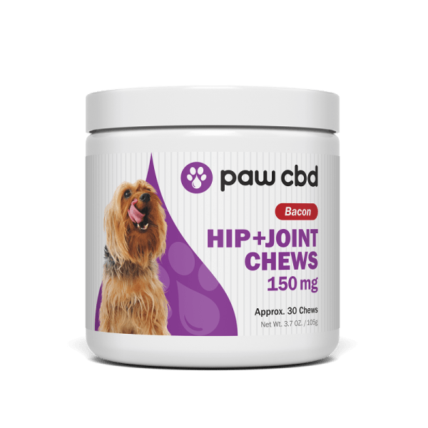 cbd-kafe,CBD HIP & JOINT SOFT CHEWS FOR DOGS 150mg,CBDMD,Broad Spectrum