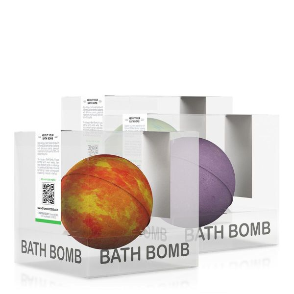 cbd-kafe,Diamond CBD Bath Bomb Bundle B- 100mg,Diamond CBD,CBD Bath & Body