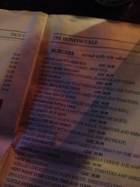 You know you've found the best expat spot in town when they have a menu full of puns.