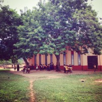 This is the school house in Gbledi Gbogama.