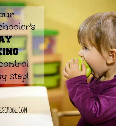 An Easy Plan for Keeping Homeschool Kids' Snacking Under Control!