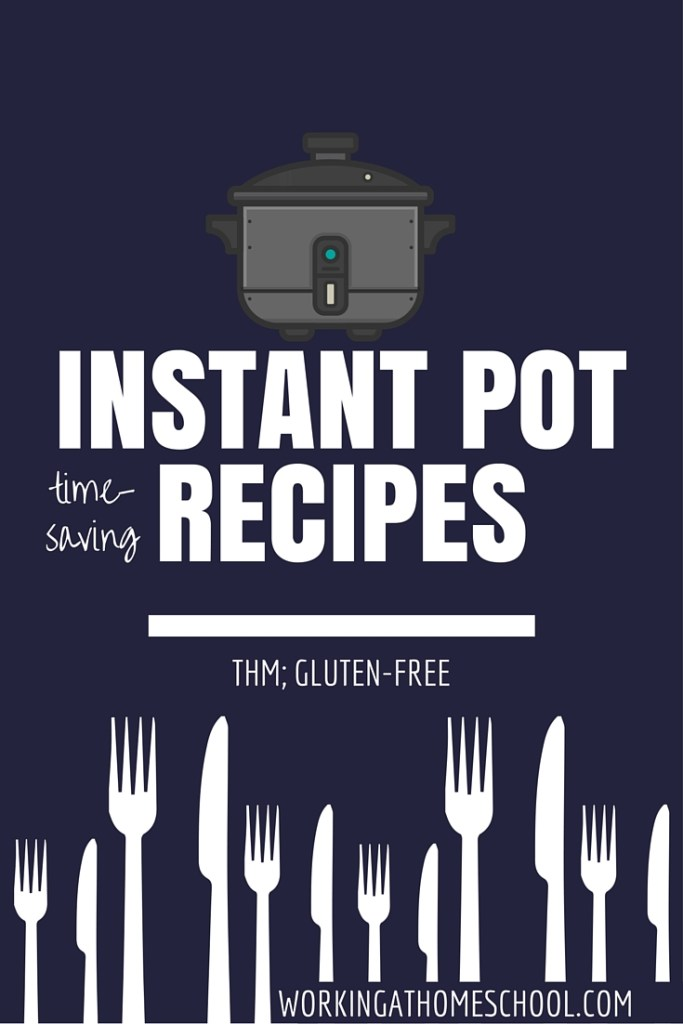 The best time-saving recipes for the Instant Pot - great resource! All of these work for Trim Healthy Mama!
