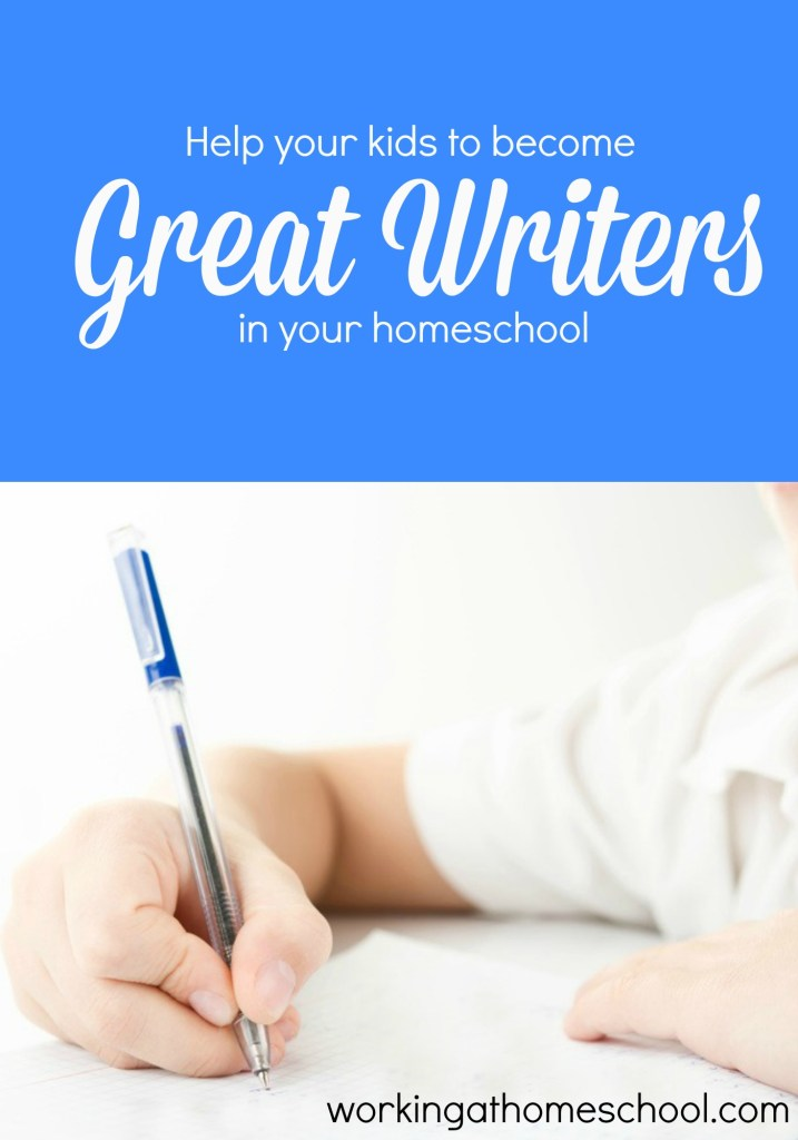 How I'm teaching my kids (who used to hate to write!) how to write WELL. This has made such a huge difference for us!